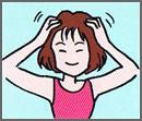 頭のマッサージを紹介する画像2